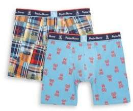 Psycho Bunny 2-Pack Printed Boxer Briefs