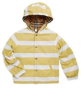 Little Boy's & Boy's Striped Hoodie