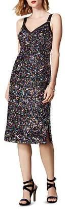 Karen Millen Sequined Sheath Dress