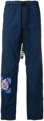 Off-White Parachute straight-leg trousers