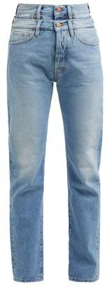 Aries Lily Double Waistband Jeans - Womens - Denim