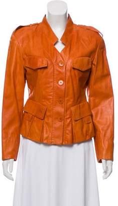 Donna Karan Leather Jacket