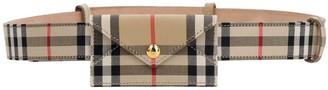 Burberry 30mm Vintage Envelope Check Belt