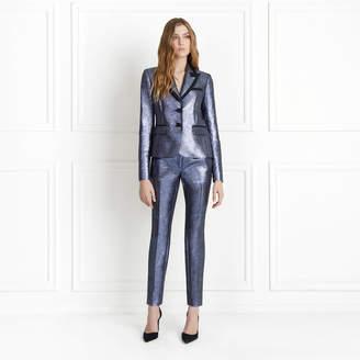 Rachel Zoe Knox Metallic Blazer