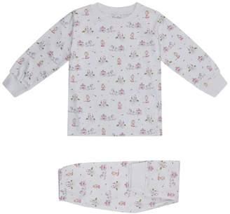 Kissy Kissy Queen Of The Castle Print Pyjamas