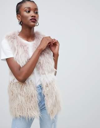 New Look Faux Fur Vest