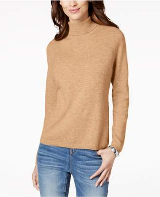 Charter Club Cashmere Turtleneck Sweater, Created for Macy's