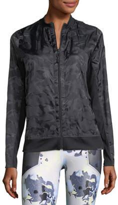 Koral Activewear Volume Tonal-Print Jacket