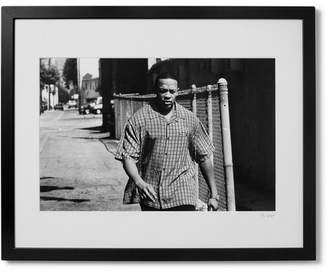 Sonic Editions Framed 1999 Dr. Dre Print, 16 X 20