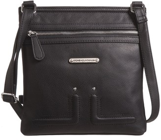 Stone Mountain USA Butter Leather North/South Crossbody Bag