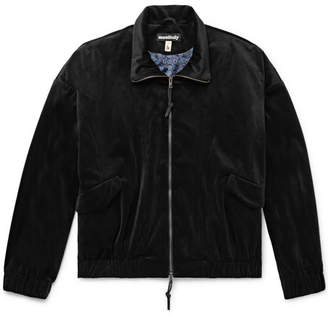 Monitaly Old Dog Velvet Blouson Jacket