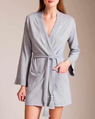 Bracli Skin Cotton Travel Knitwear Valora Robe