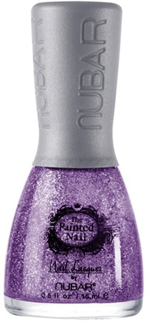 Painted Nail The OMG Gorgeous Purple Glitter Organic Nail Polish