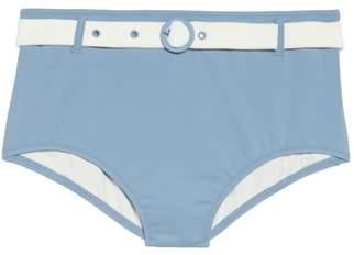 Solid & Striped The Quinn Belted High Waist Bikini Bottoms