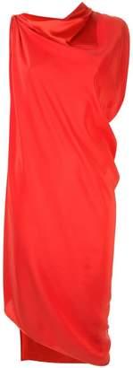 Jean Paul Gaultier Knott asymmetric hem dress