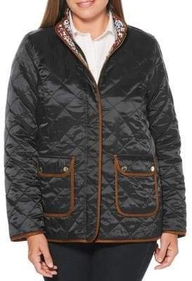 Rafaella Petite Quilted Reversible Jacket