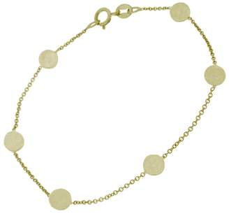 Jennifer Meyer Circle Chain Bracelet - Yellow Gold