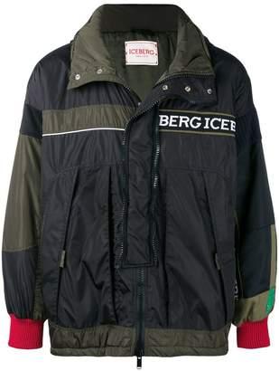 Iceberg short colourblock coat