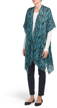Zebra Print Kimono