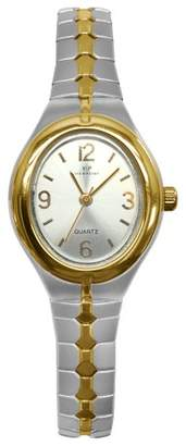 Timex Women's Viewpoint by Expansion Band Watch - Silver/Gold CC3D83200TG