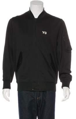Y-3 Logo Bomber Jacket