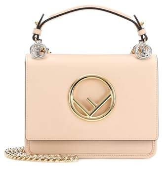 Fendi Kan I F Mini leather shoulder bag