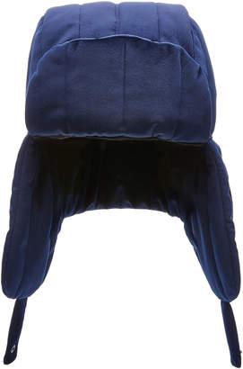 Federica Moretti Quilted Velvet Hat