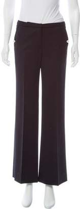 By Malene Birger Mid-Rise Wide-Leg Pant