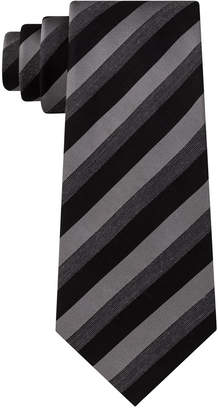 Kenneth Cole Reaction Men Best of Black Stripe Tie