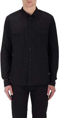 IRO Men's Soso Cotton Chambray Shirt