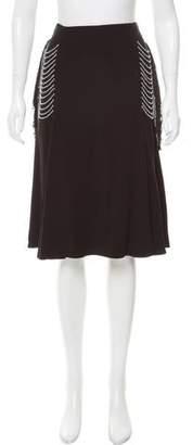 Thakoon Beaded Fringe Knee-Length Dress w/ Tags