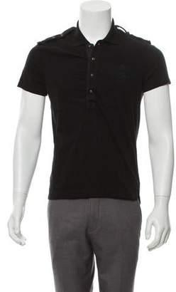 cc82ef26be66 Gucci Short Sleeve Polo Shirt