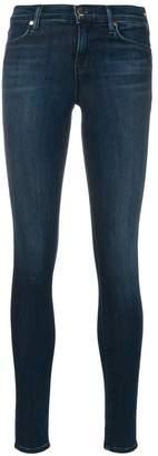 J Brand skinny stonewashed jeans