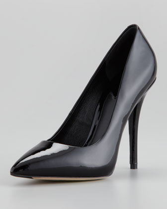 B Brian Atwood Desire Patent Pointed-Toe Pump