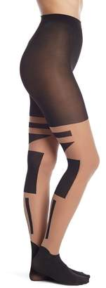 Pretty Polly 'Tower Block' Tights