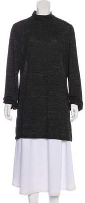 Michael Kors Mock Neck Long Sleeve Tunic