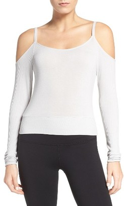 Women's Alo Evolve Off The Shoulder Top $72 thestylecure.com