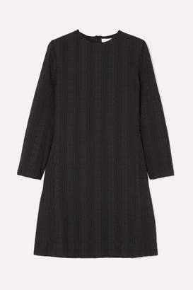 Chloé Embroidered Cotton Mini Dress - Black