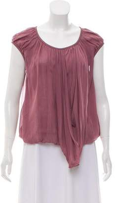 Stella McCartney Silk Sleeveless Top