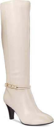 Karen Scott Hollee Wide-Calf Dress Boots, Women Shoes