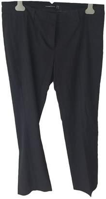Hallhuber Navy Trousers for Women