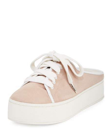 Opening CeremonyOpening Ceremony Cici Lace-Up Platform Mule Sneaker, Light Pink