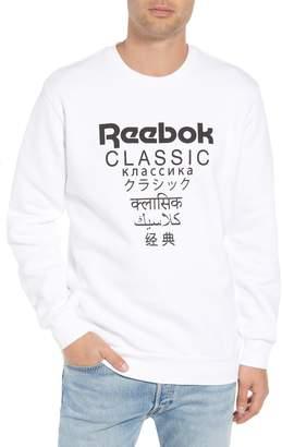 Reebok Crewneck Logo Sweatshirt