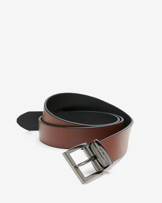 Express Pebble Strap Reversible Belt