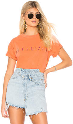 Paradised Embroidered Boxy Tee