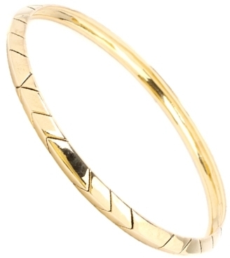 House Of Harlow 1960 - Gold Thin Stack Bracelet