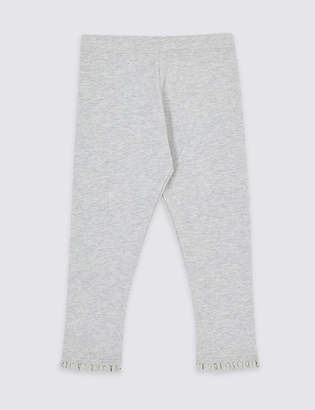 Marks and Spencer Cotton Rich Leggings with Stretch (3 Months - 7 Years)