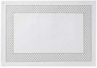 Waterford Netta Placemat, White/Silver