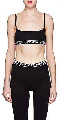 Off-White Women's Logo Training Bralette