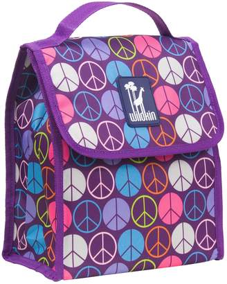 N. Wildkin Peace Sign Munch 'n Lunch Bag - Kids